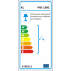 Kanlux Argus CT-2114 spot lámpatest MR16 fix grafit (328) energiacimke