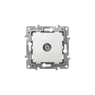 Legrand Niloé TV aljzat, átmenő (15 dB), körömmel, fehér