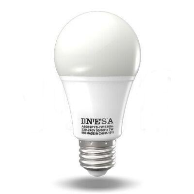 INESA 60283 LED fényforrás E27 9,5W 680lm 180° 3000K G2