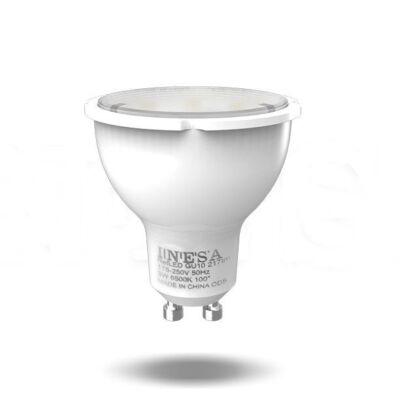 INESA 60575 LED fényforrás GU10 7W 105° Spot 4000K G3 580Lm