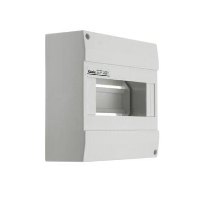 Kanlux 3852 DB108W 1x8P/SM falon kívüli 8modulos lakáselosztó ajtó nélkül