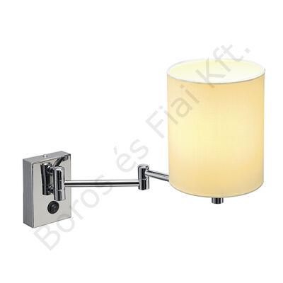 SOPRANA fali lámpatest WL-1 kerek fehér E27 (155621)