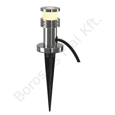 MINIPOL LED kültéri leszúrható lámpatest 30cm aluminíum melegfehér LED IP44 (230241)