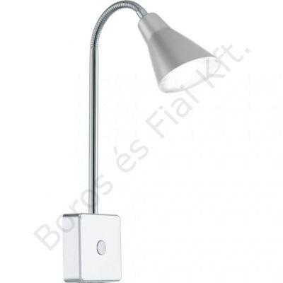 Eglo  NERA 1 LED-es dugaljszpot acél/matt nikkel műanyag/ezüst 8x32cm