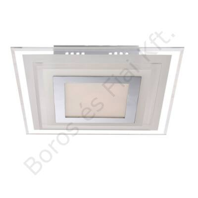 Globo mennyezeti lámpa króm/üveg 41684-3