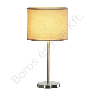 SOPRANA asztali lámpa TL-2 kerek bézs textil E27 (155353)