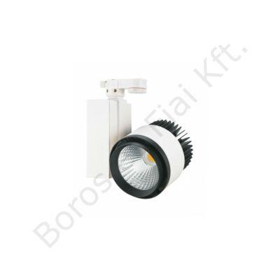 TLED 306SA 35W 3000K 24° COB LED  egyfázisú sínes lámpatest