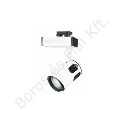TLED 308 35W 3000K 24° COB LED  egyfázisú sínes lámpatest
