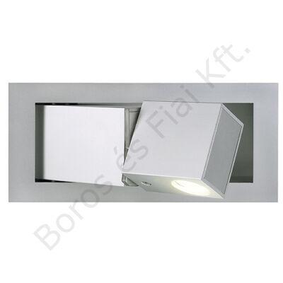 BEDSIDE LED fali lámpatest meleg fehér LED 3W ezüstszürke (146242)