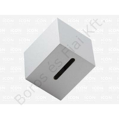 ICON BUDE-0400 fali lámpatest 230V 1xG9 foglattal ezüst
