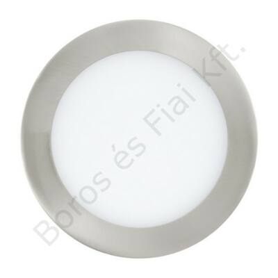LED-es beépíthető 10,9W 17cm króm 4000K IP44 Fueva1
