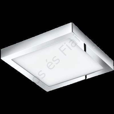 LED-es mennyezeti 22W 30cmx30cm króm 3000K IP44 Fueva1