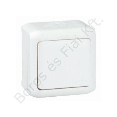 Legrand Forix IP44 falon kívüli egypólusú nyomó 6 A - 250 V~ fehér