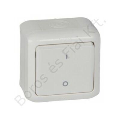 Legrand Forix IP44 falon kívüli kétpólusú kapcsoló 10 AX - 250 V~ fehér