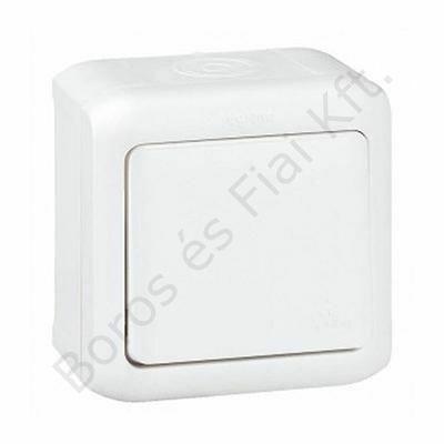 Legrand Forix IP44 falon kívüli váltókapcsoló 10 AX - 250 V~ fehér