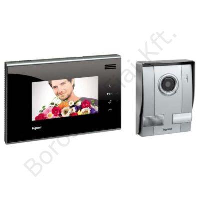 Legrand kaputelefon 369210 szett 1 lakásos 2 vezetékes színes videó 7coll fekete