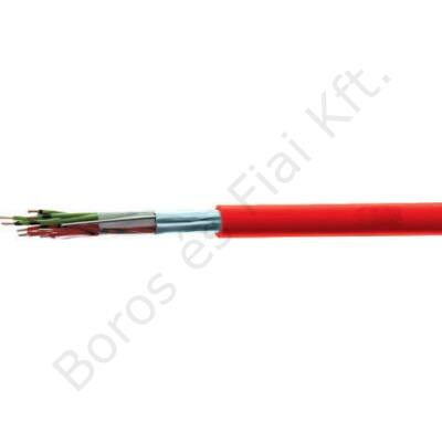 JB-H(ST)H E90 4x2x0,8mm2 tűzálló tűzjelző kábel 225V