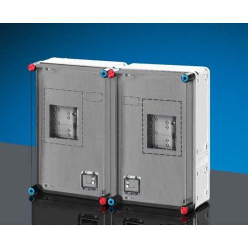 Hensel HB33K0 2db 1Fázisú vagy 3 Fázisú +hangfrekvenciás vevőnek mérőszekrény Basic 33fmK 600x450mm
