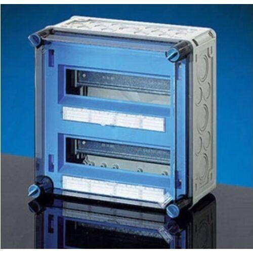 Hensel MI 71222 kismegszakító szekrény 24 modul 2db csapófedéllel 300x300