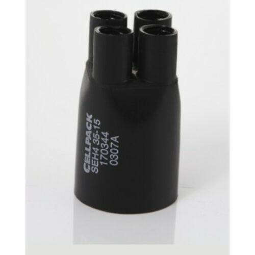 Zsugor végelzáró 4x35-150mm2