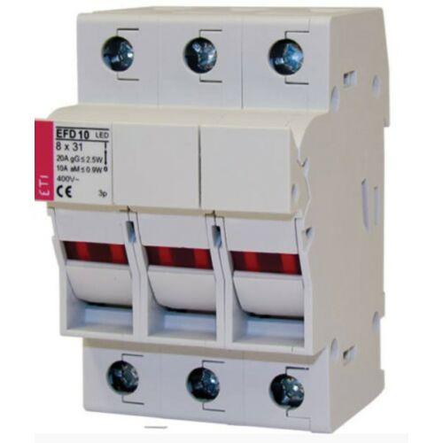 ETI EFD 10 3P 10x38 3P biztosítós szakaszoló