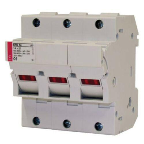 ETI EFD 14 3P 14x51 3P biztosítós szakaszoló