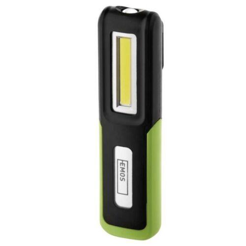 Akkumulátoros LED lámpa 3 W COB + 3W CREE LED