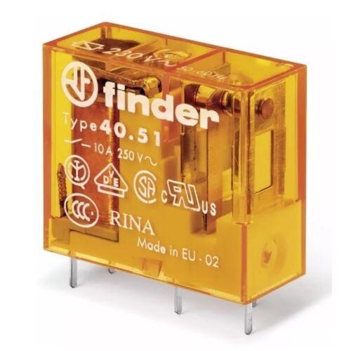 FINDER Elektromágneses relé 24VDC 10A