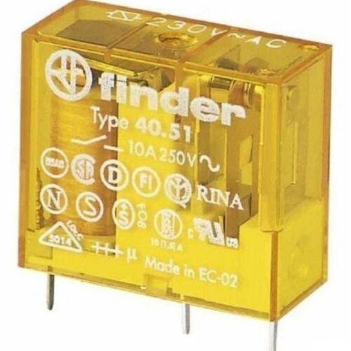 Finder 40.51.8.024.0000 Relé 1morse 24VAC 10A