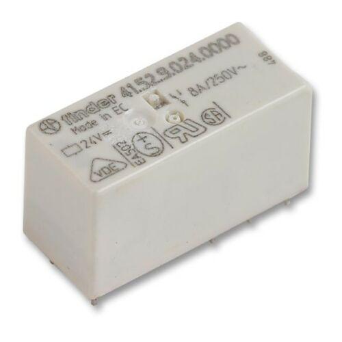 Finder 41.52.9.024.0000 Relé 8A 24VDC monostabil