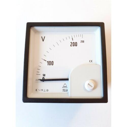Ganz Analóg voltmérő 250V