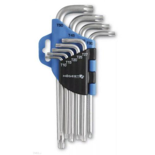 Högert TORX kulcskészlet T10-T50 között