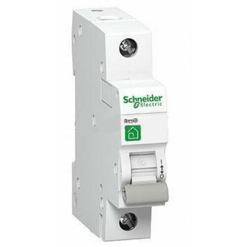 Schneider R9F04110 kismegszakító 1P 10A B kartakterisztika