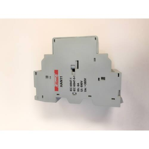HIMEL Segédérintkező motorvédőhöz 1NO+1NC oldalsó