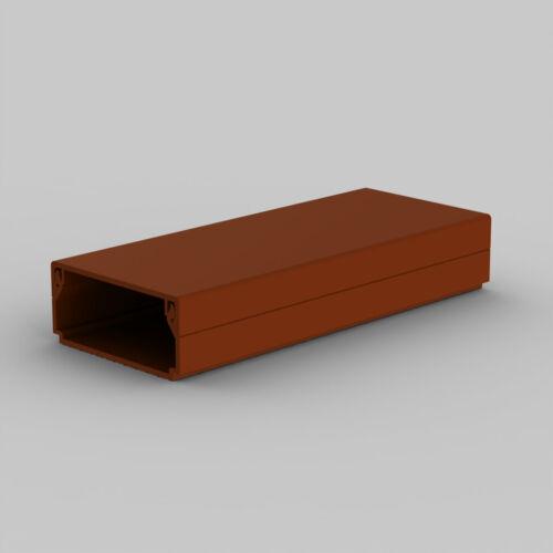 Kopos LHD 40x20TD műanyag csatorna, sötétbarna famintás