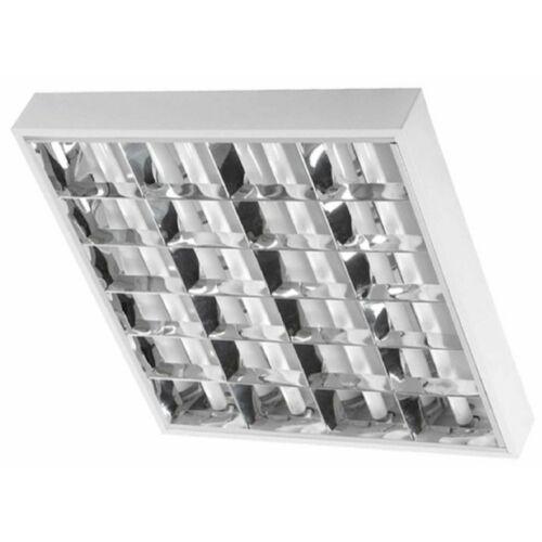 Thorn mennyezeti lámpatest 4x18W tükrös rácsos