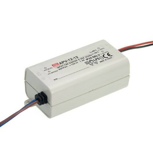 LED tápegység 12W/12V/1A