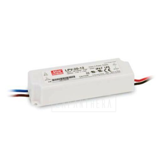 LED tápegység 20W/12V/0-1,67A