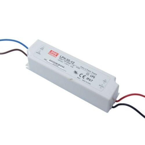 LED tápegység 35W/12V/0-3A
