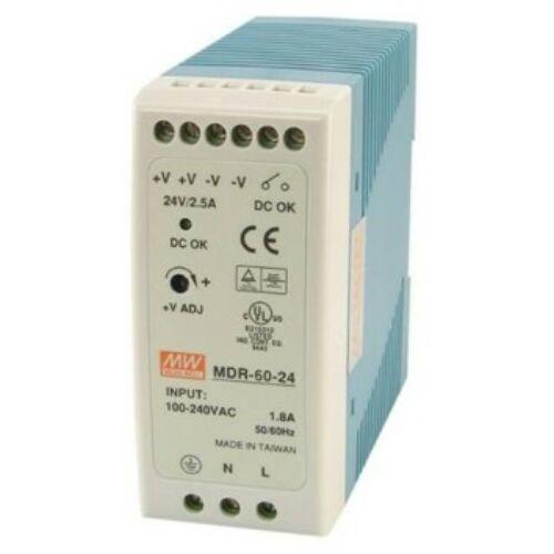 LED tápegység 60W/24V/0-2,5A sorolható