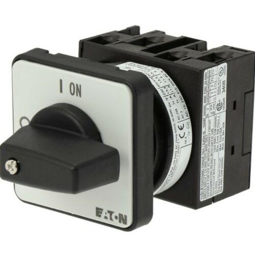 Moeller 024639 T0-2-1/E ki-be kapcsoló előlapra szerelhető 3P 20A