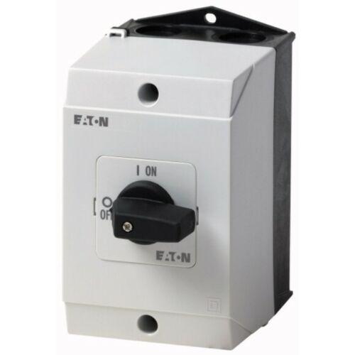 Moeller 207299 P1-25/I2 szakaszkapcsoló BE-KI kapcsoló kompakt 3-pólus 25A