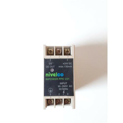 Nivelco Nipower Transzformátor be: 90-260V ki: 24VDC