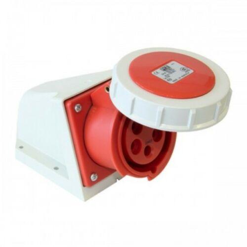 PCE 1252-6 dugalj falonkívüli 32A 5P csavarkapcsos piros
