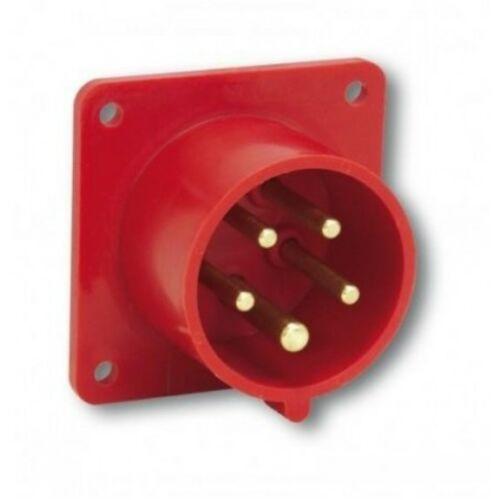 PCE 615-6 Ipari csatlakozó 16A 5P 400V piros