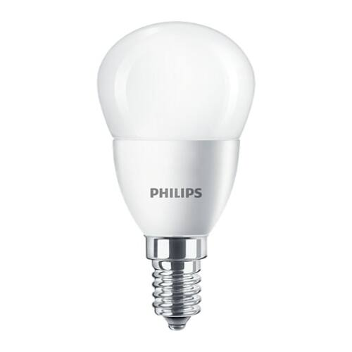 Philips E14 5,5W 520lm 4000K kisgömb LED izzó