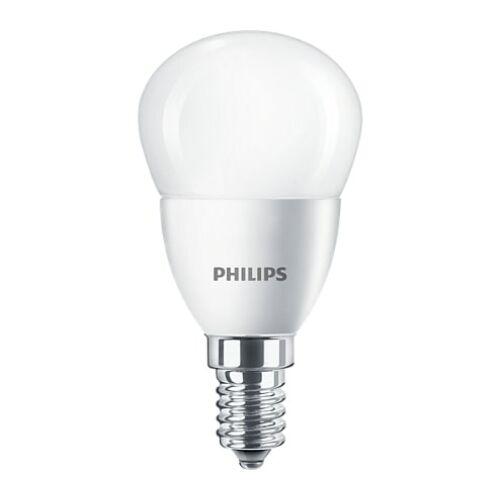 Philips E14 5,5W 470lm 2700K kisgömb LED izzó