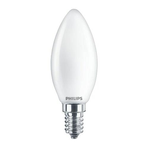 Philips E14 5,5W 520lm 4000K gyertya LED izzó