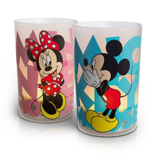 Philips 71712/55/16 Disney mécses 2x0,06W LED 100x65x65mm