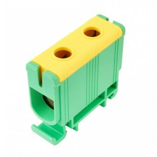 Pollmann 2090106 UK50/1 sorkapocs zöld/sárga 2,5-50 réz, 6-50 alu
